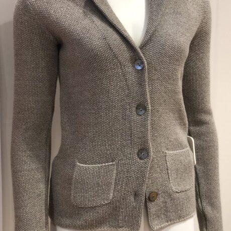 Vest Fiore €159,95, Beige Melange, 30% Wool, 30% Viscose, 5% Cashmere, 35% Polyamide