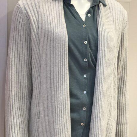 Vest Donna Inverno €169,95, Ash, 5% Cashmere, 30% Wool, 30% Viscose, 35% Polyamide